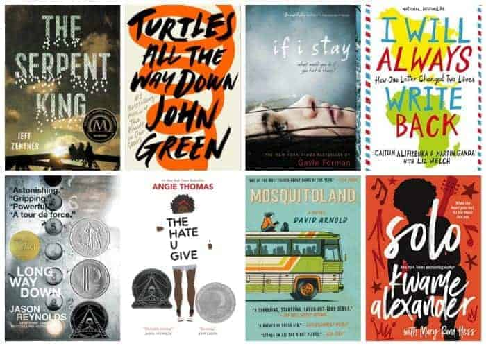 summer book list for teens