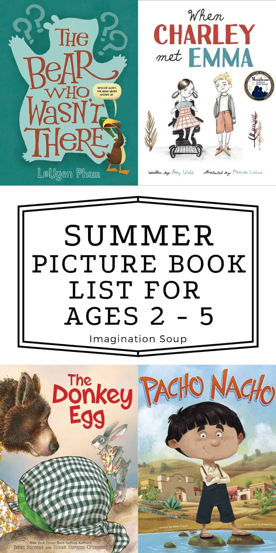 summer picture book reading list for preschoolers