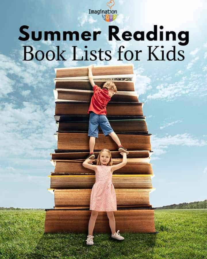 summer reading book lists for kids ages 5 - 18 great for parents, teachers, and librarians
