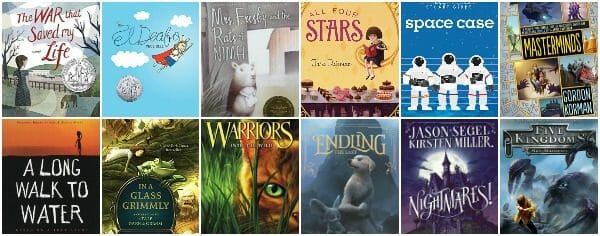 5th Grade Summer Reading List (age 10 – 11)