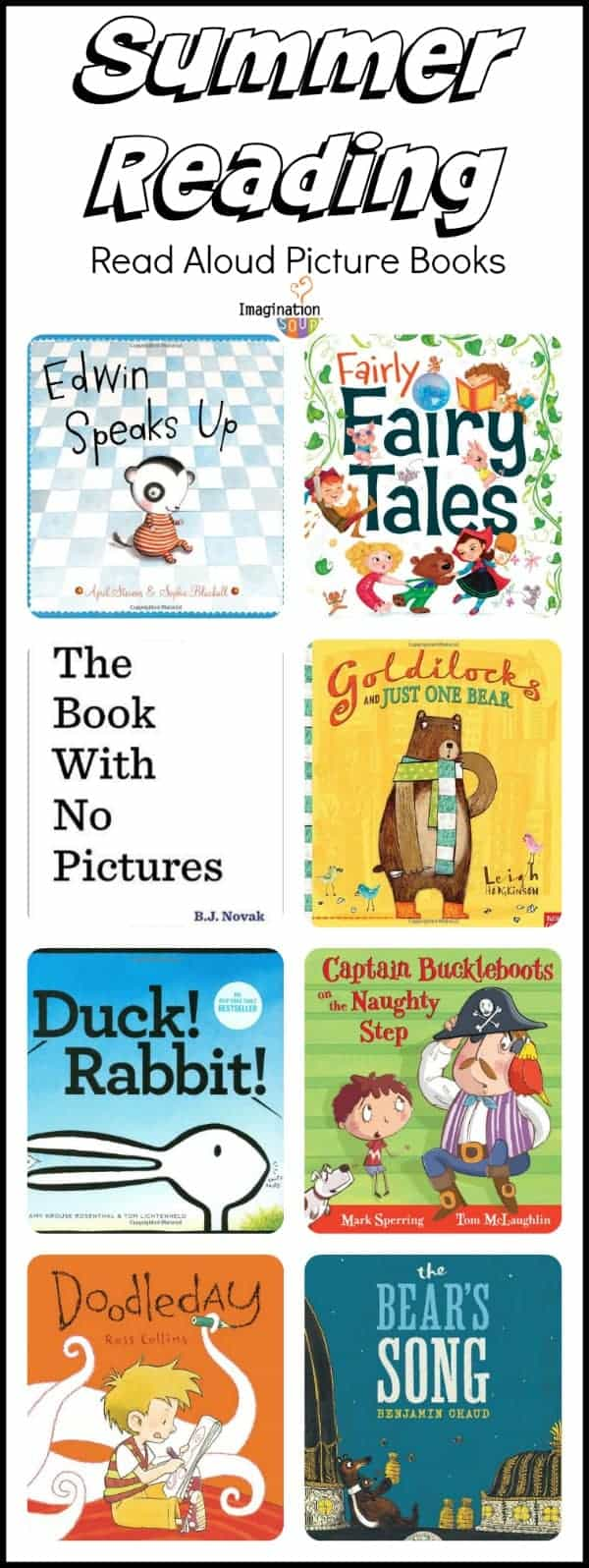 summer reading read aloud picture books