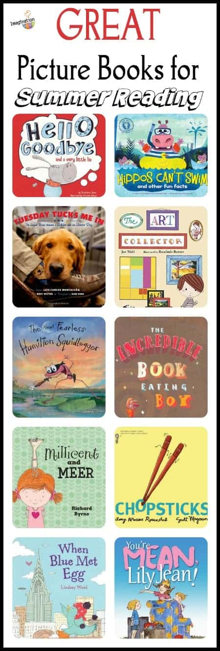 summer reading recommendations - picture books with life lessons