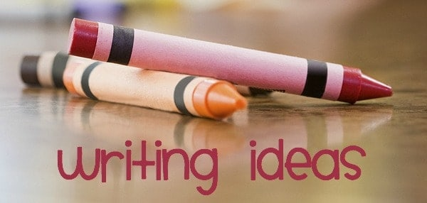 writing ideas for summer elementary age kids