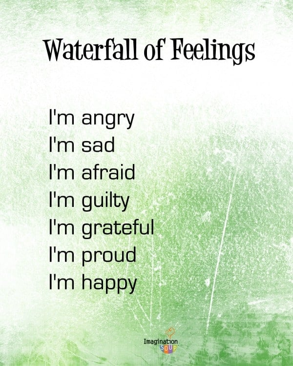 waterfall of feelings