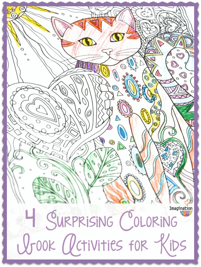 4 Surprising Coloring Book Activities for Kids | Imagination Soup