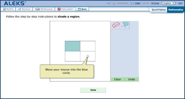 ALEKS Math Website for Kids