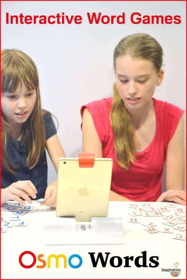 Review of Osmo Gaming System for iPad - Osmo Words is our FAVORITE