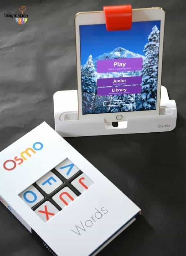 Review of Osmo Gaming System for iPad - Osmo Words