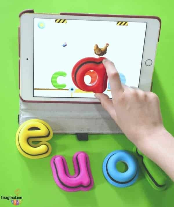 Impressive Beginning Reader App - Tiggly Words