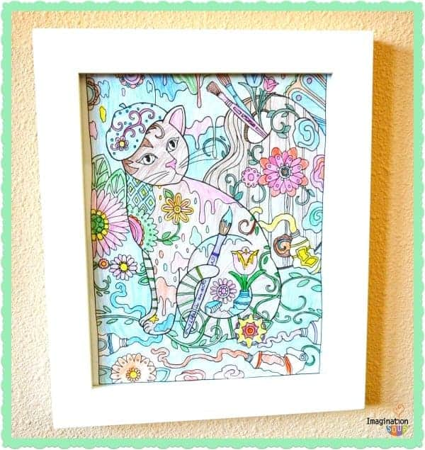 frame you coloring pages