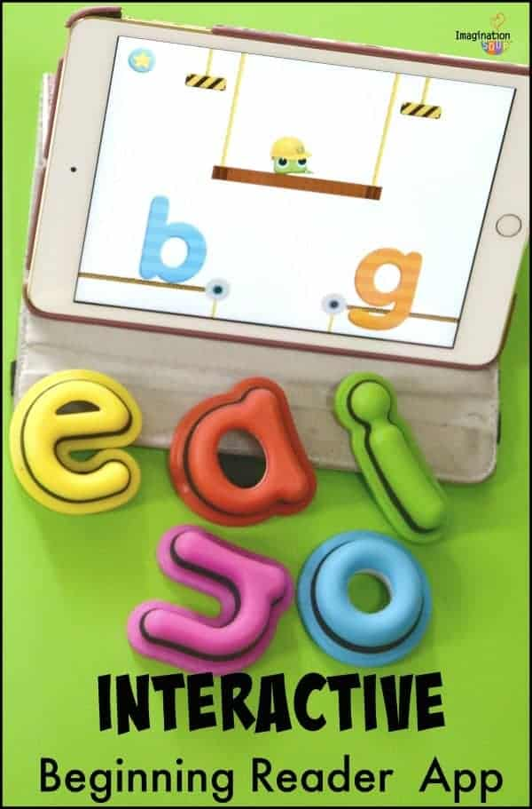 interactive beginning reader app Tiggly Words