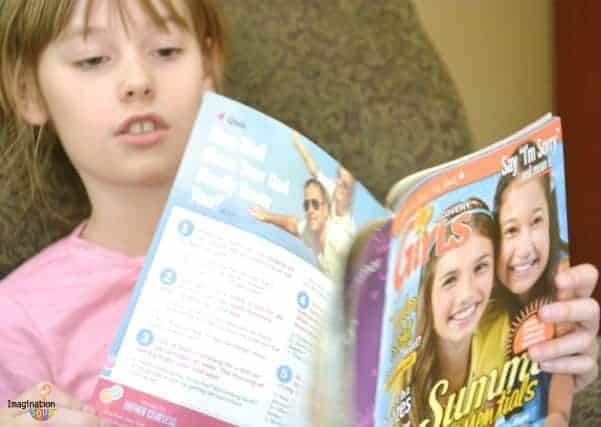 read a magazine