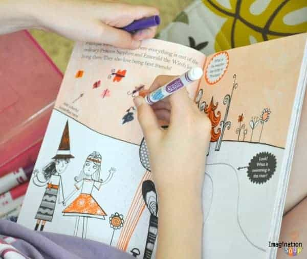 read an activity book
