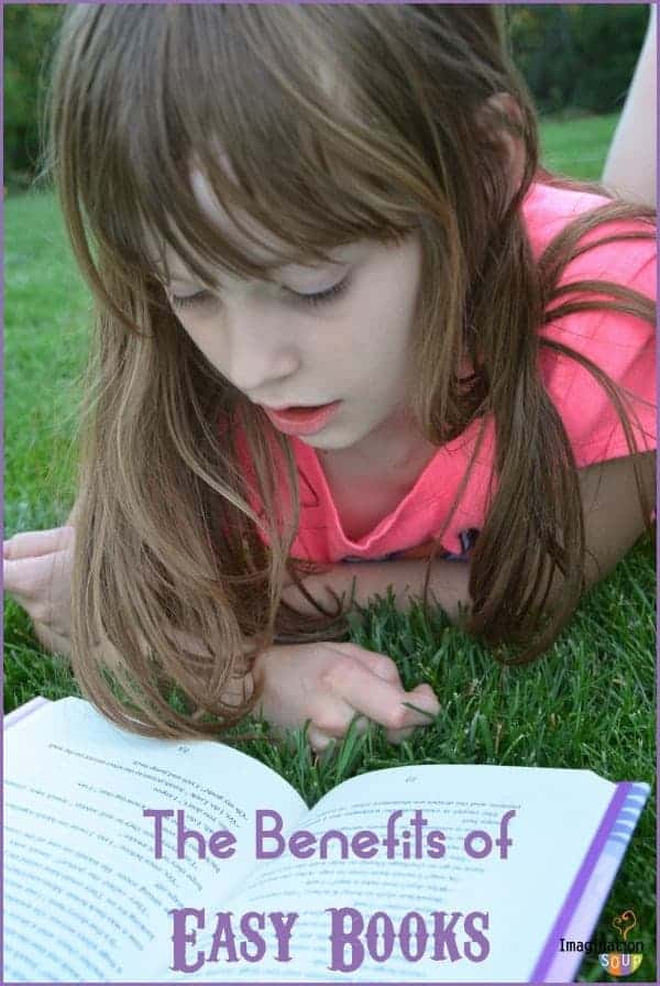 the benefits of reading easy books -- and why you should let your kids do it!