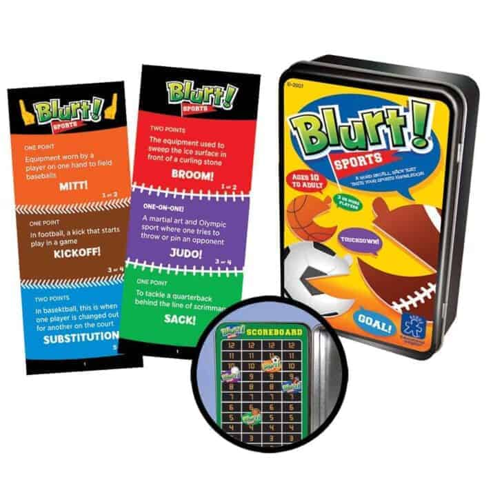 Blurt Sports for on the go play
