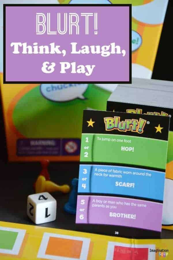 Blurt fun family game