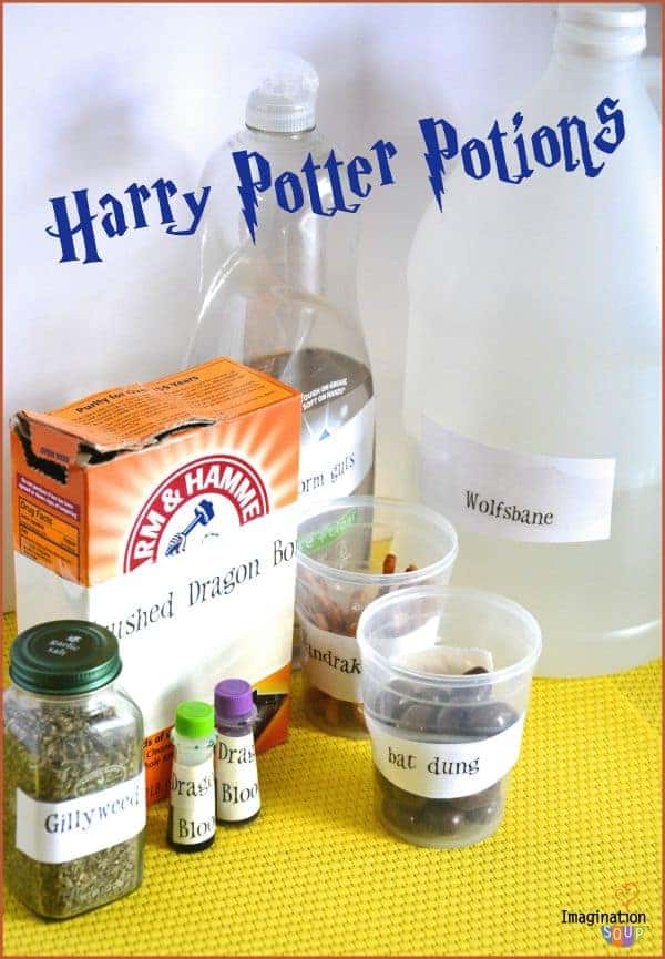 Harry potter potions class experiments imagination soup diy harry potter potions solutioingenieria Image collections