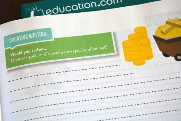 Education.com Creative Writing Workbook