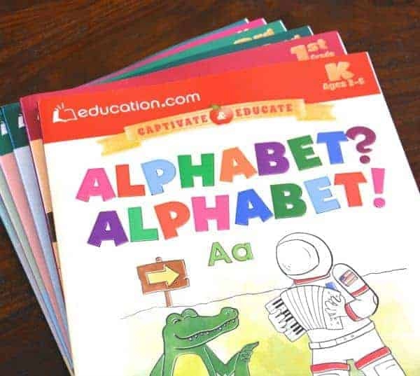 Education.com Literacy Workbooks