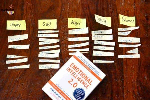 book how to put emotions in to words