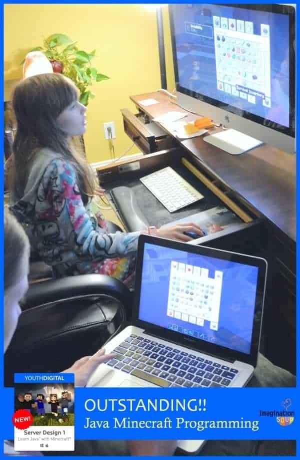 Java Minecraft Programming Class - outstanding!