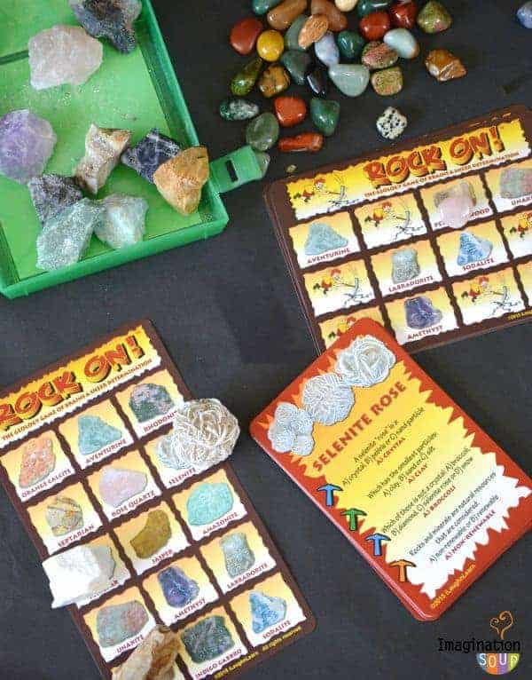 Rock On! geology game and kit