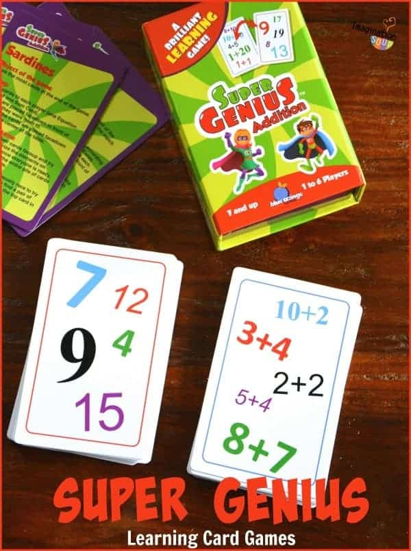 Super Genius Learning Card Games for Kids
