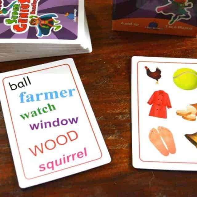 Super Genius Educational Card Games for Kids