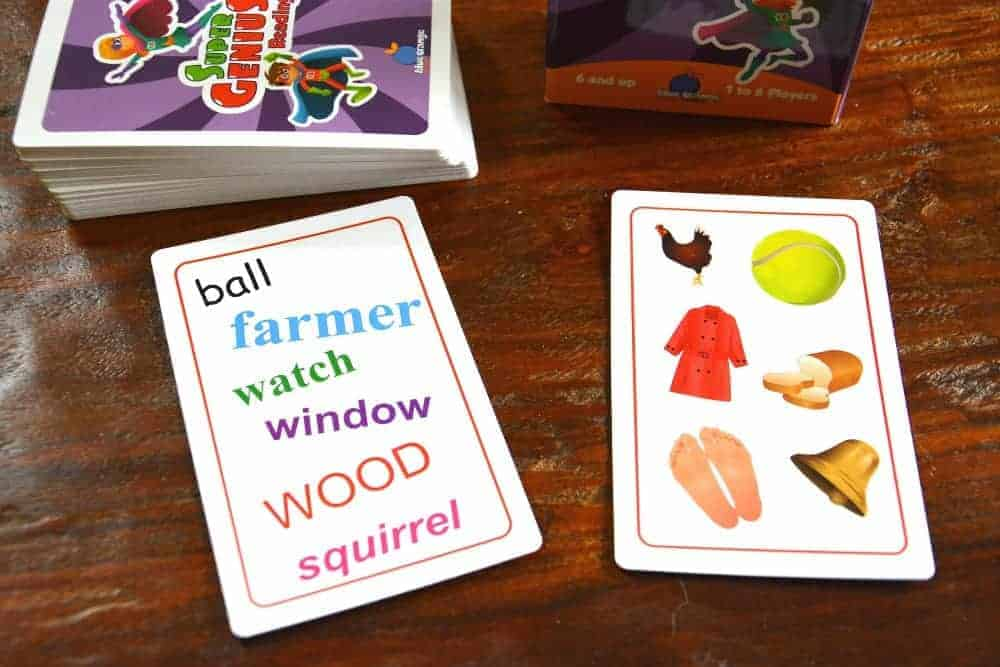 Super Genius Educational Card Games for Kids