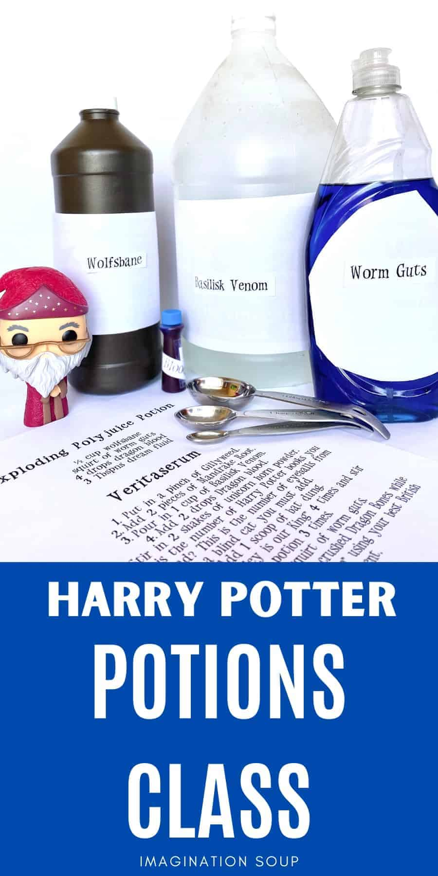 awesome Harry Potter potions class experiments for birthday parties and science classes