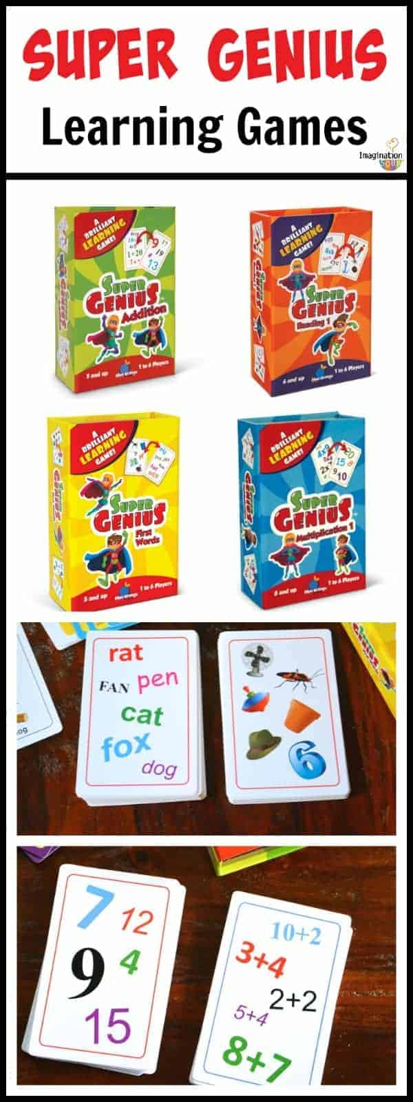 learning card games for kids