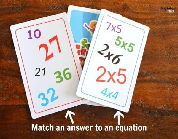 super genius multiplication game