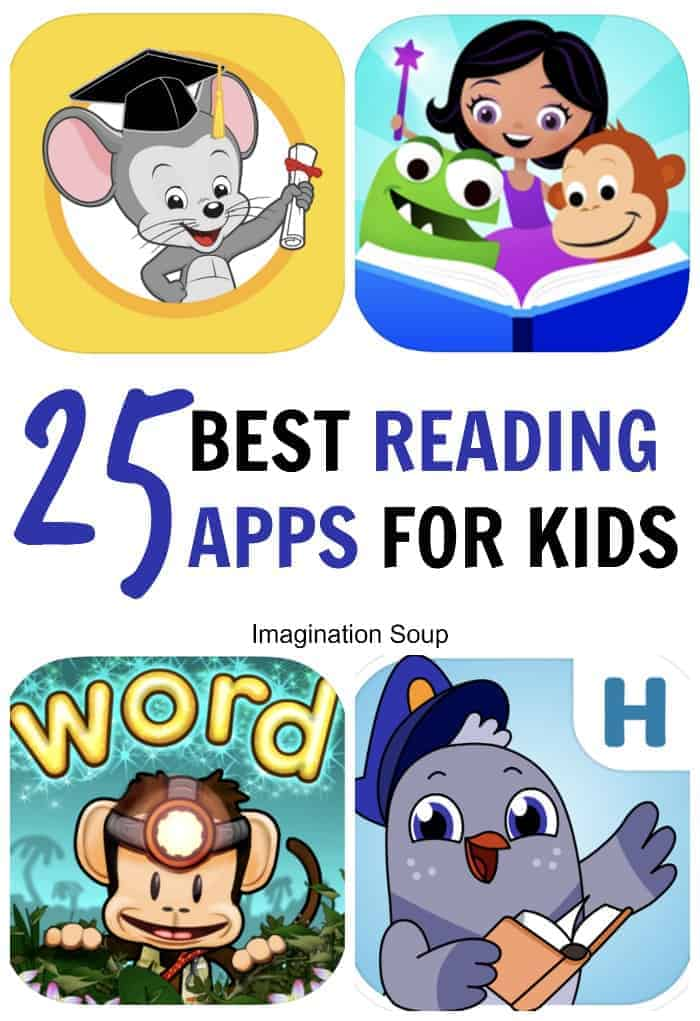 25 best reading apps for kids who are learning to read