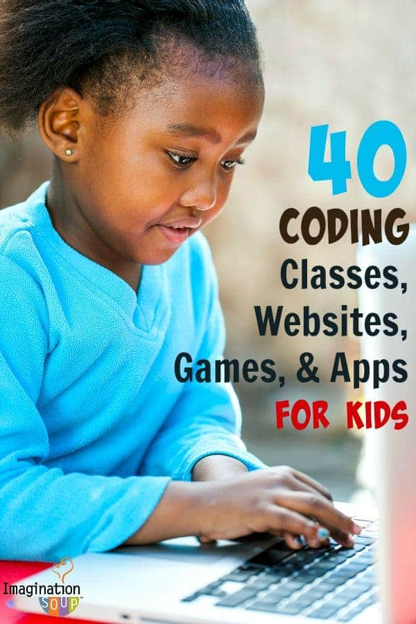 40 coding classes, websites, games, toys and apps for kids