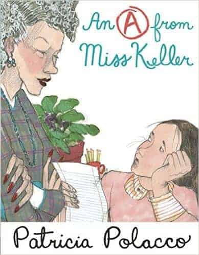 An A from Miss Keller picture book book review
