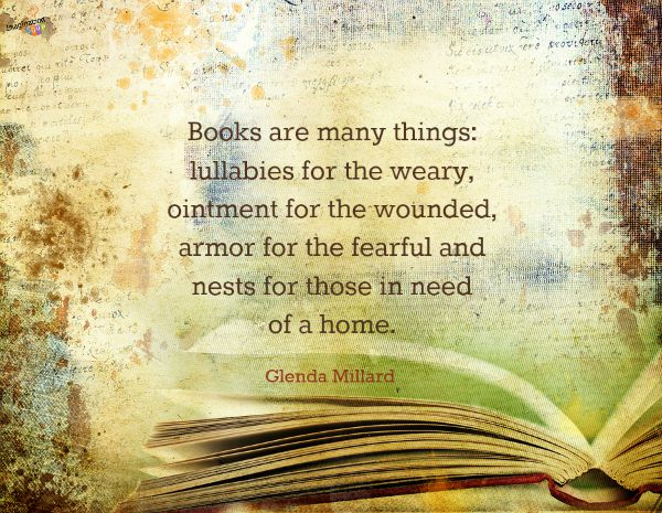 Book quote from Glenda Millard
