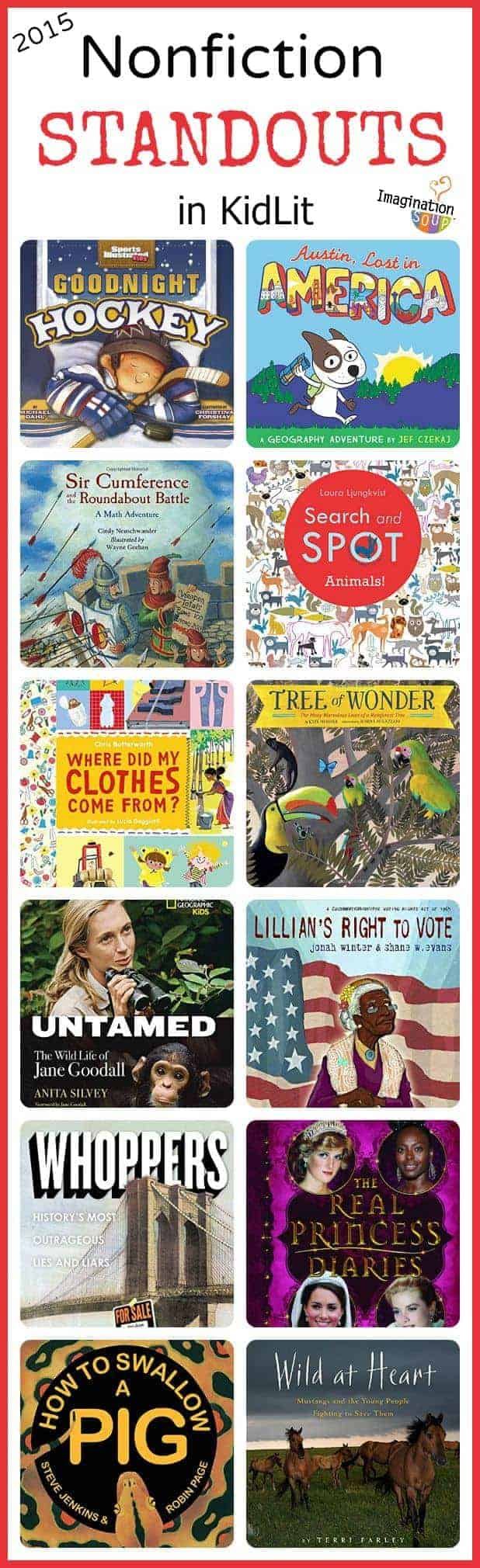 New Nonfiction Standouts in Kidlit