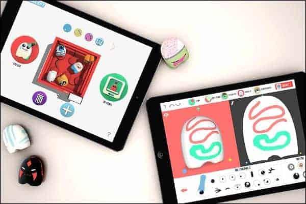 Potatoyz app and 3D toys