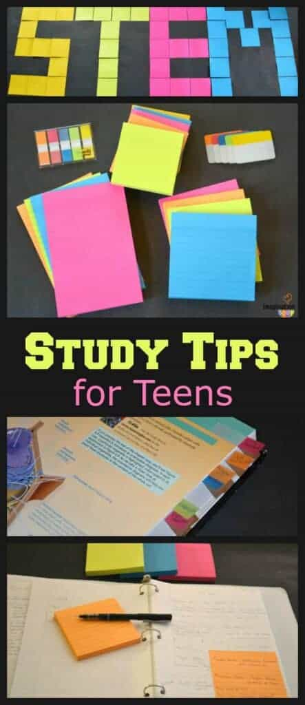 STEM study and organization tips for teens