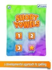 Short Vowels Beginning Reading Apps for Kids