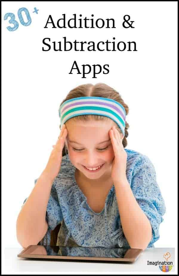 reviews of over 30 addition and subtraction apps with great free options