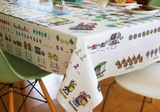 tablecloth for learning math
