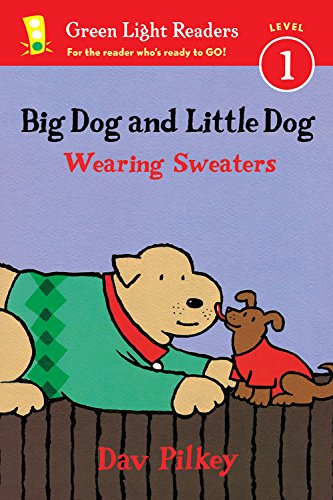 Big Dog and LIttle Dog Wearing Sweaters Easy Readers / Phonics Books / Level 1 Readers