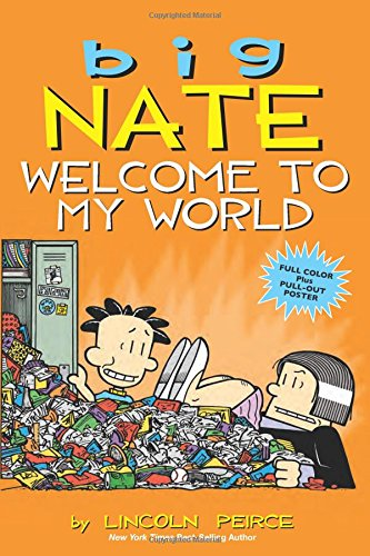 Big Nate Welcome to My World Review - good graphic novels for kids