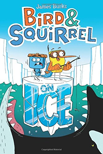 Bird and Squirrel on Ice Graphic Novel for Kids Gifts for 7-Year Old Girls