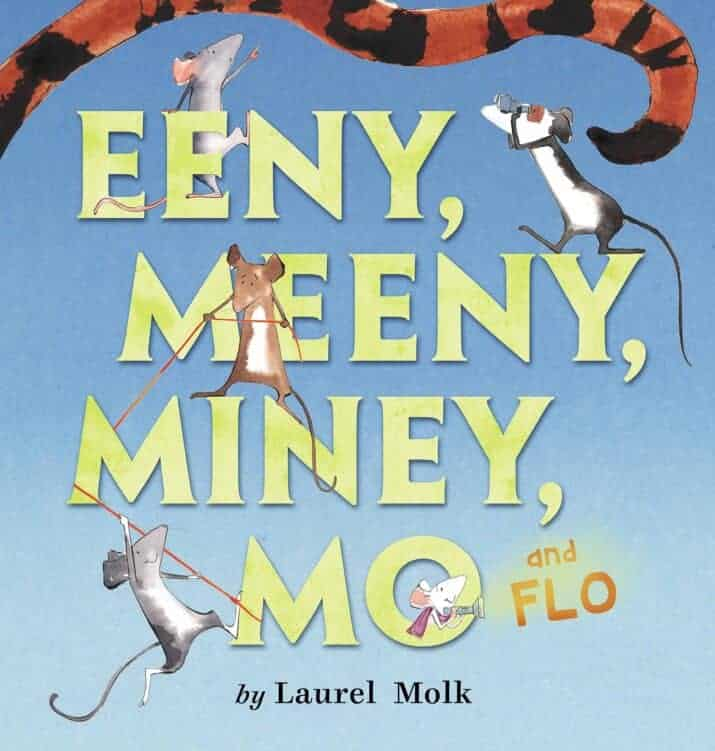 Eeny Meeny, Miney, Mo and FLO! picture book for preschool age kids