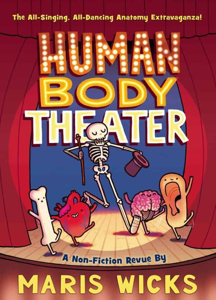 Human Body Theater - best graphic novels and comic books for kids