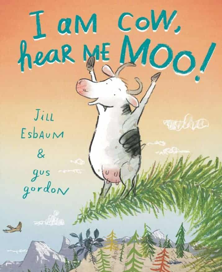 I Am Cow funny picture book