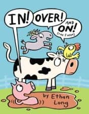 In! Over! On! the Farm early reader