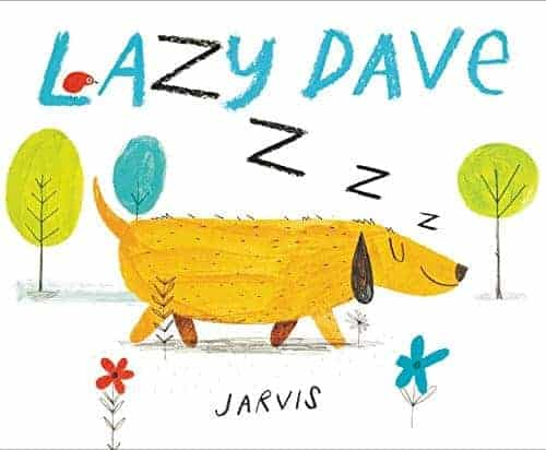 Lazy Dave picture book for preschoolers